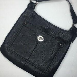 👛[Coach] Penelope Hippie Pebbled Crossbody Bag